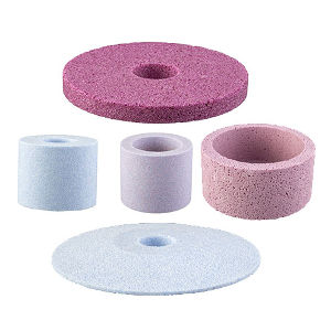 Hole grinding wheels production