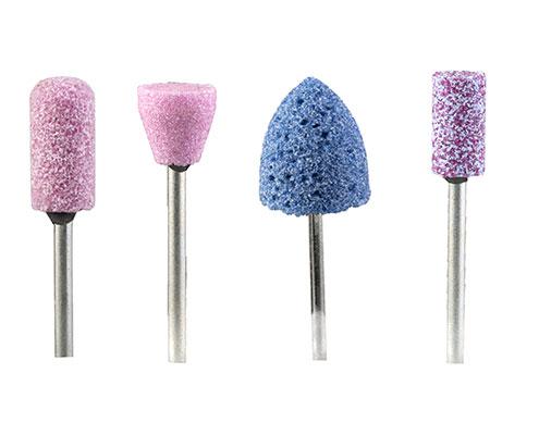 Mole abrasive per odontotecnica